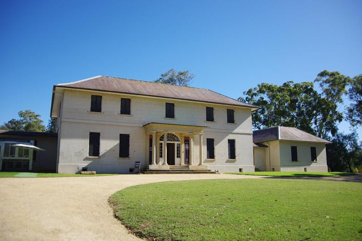 パラマッタの旧総督官邸