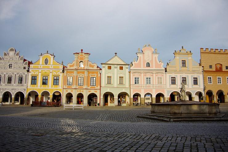 テルチ歴史地区、ルネサンス様式の街並みがそのまま残る町並み