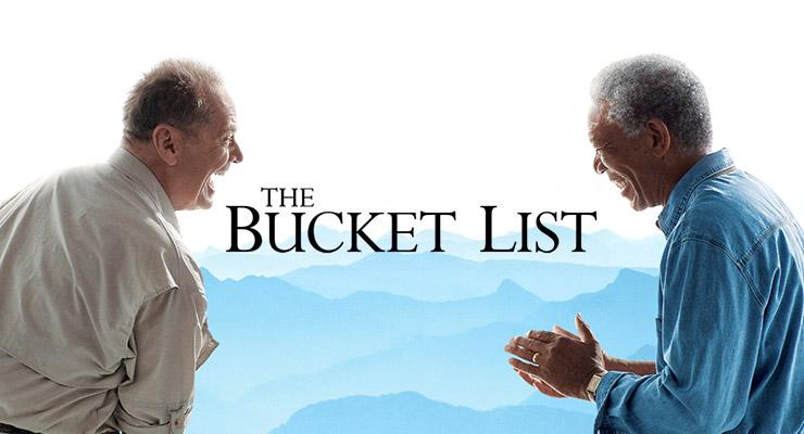 人生最後のゴージャスな旅の映画『最高の人生の見つけ方』