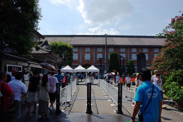 富岡製糸場の入り口