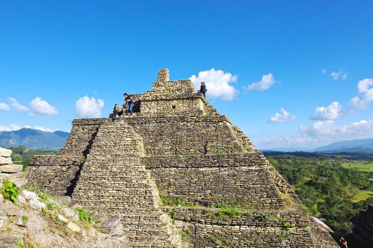 トニナ遺跡、ピラミッドの頂上