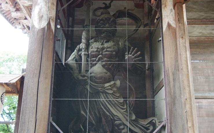 南大門の仁王