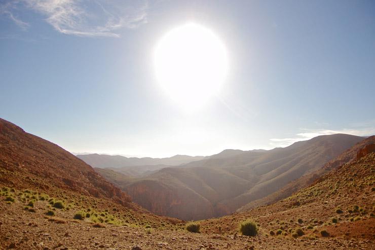 トドラ峡谷(Gorges du Toudra)でトレッキング