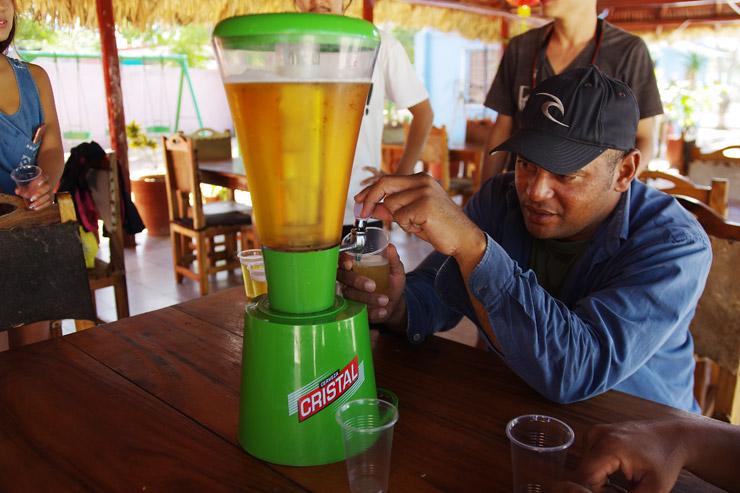 キューバのビール