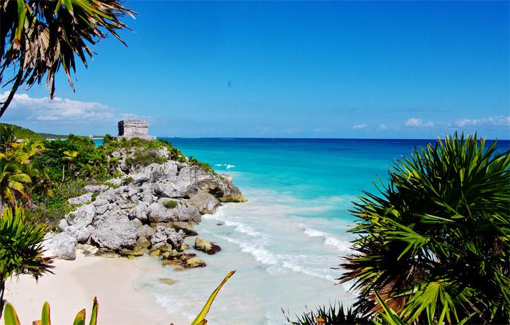 トゥルム遺跡 | カリブ海に面したマヤ終焉の地