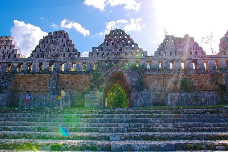 古代都市ウシュマル