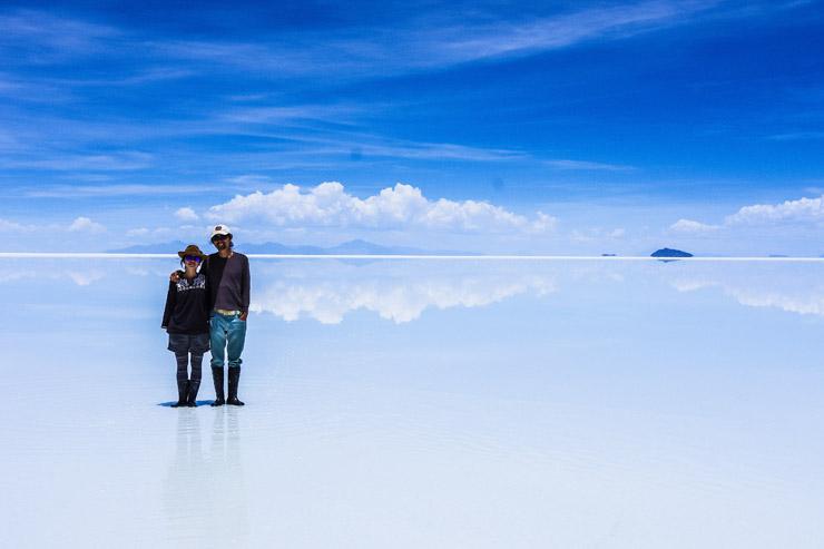ウユニ塩湖のデイ・ツアー