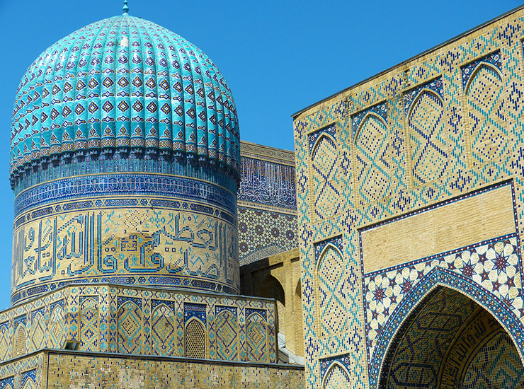 ウズベキスタンの世界遺産、一覧
