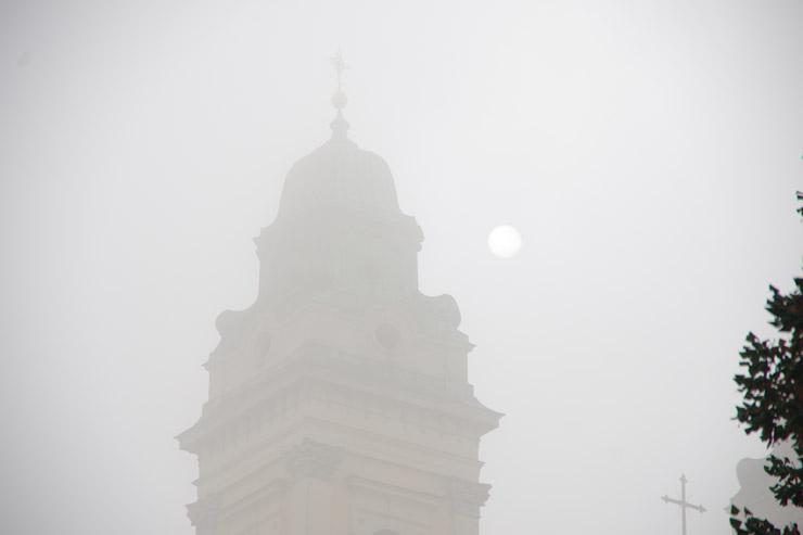 霧の濃いヴァルティツェ