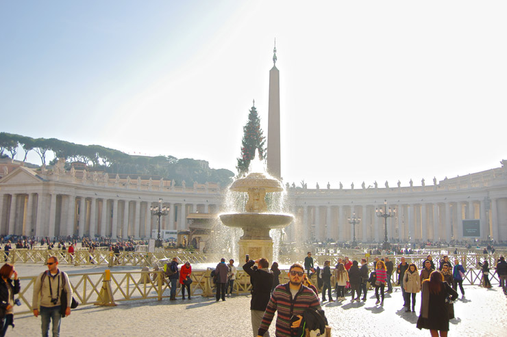 カトリックの総本山『バチカン市国』 | バチカンの世界遺産