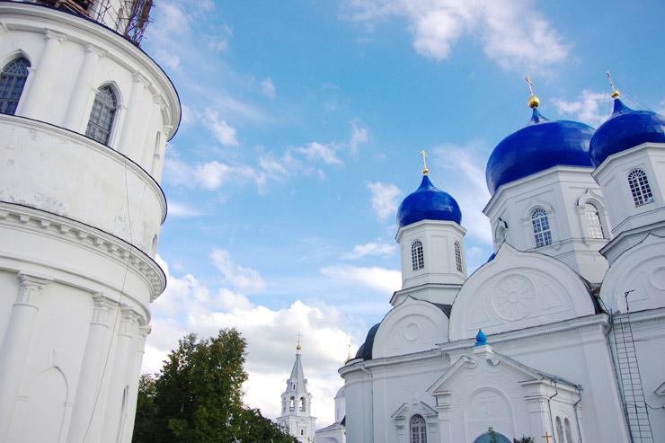 バガリューブスキー公の宮殿と修道院(アンドレイ・ボゴリュブスキーの居城)