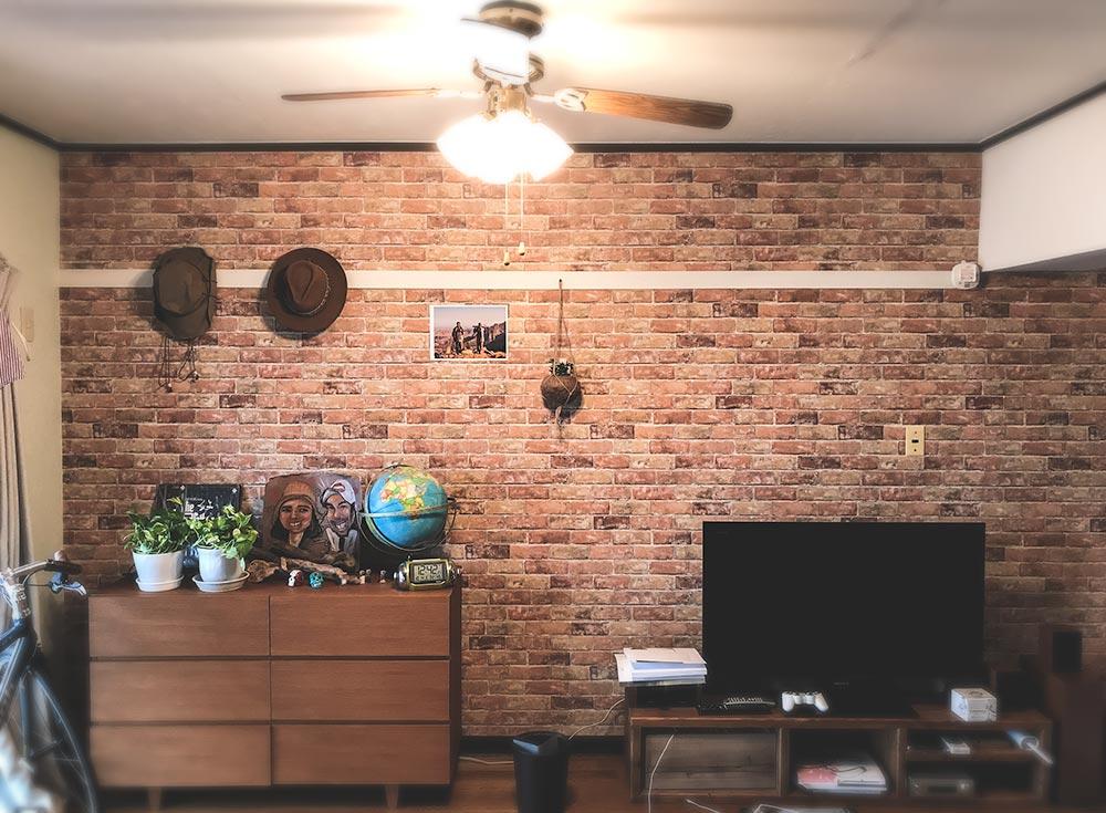壁紙を張り替えたらビンテージマンション