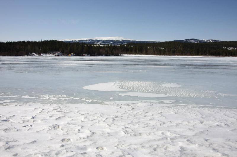 ホワイトホースのダム