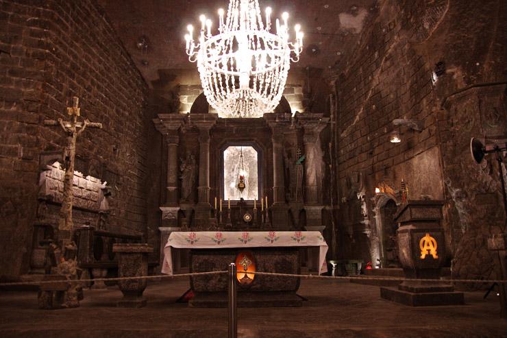 ヴィエリチカ・ボフニア王立岩塩坑 | ポーランドの世界遺産