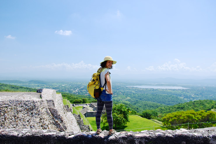 ソチカルコの古代遺跡地帯 | メキシコの世界遺産