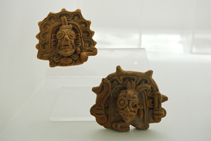 ソチカルコの古代遺跡地帯