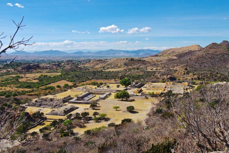 オアハカ中部渓谷ヤグルとミトラの先史時代洞窟 | メキシコの世界遺産