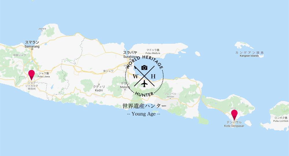 ジョグジャカルタからバリ島までのバス