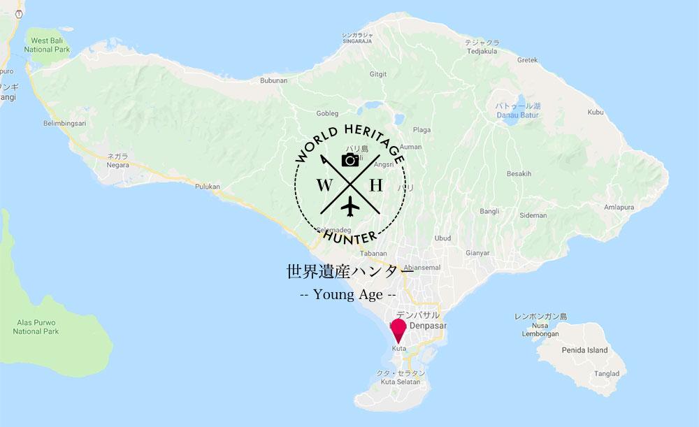 バリ島、クタ(デンパサール)