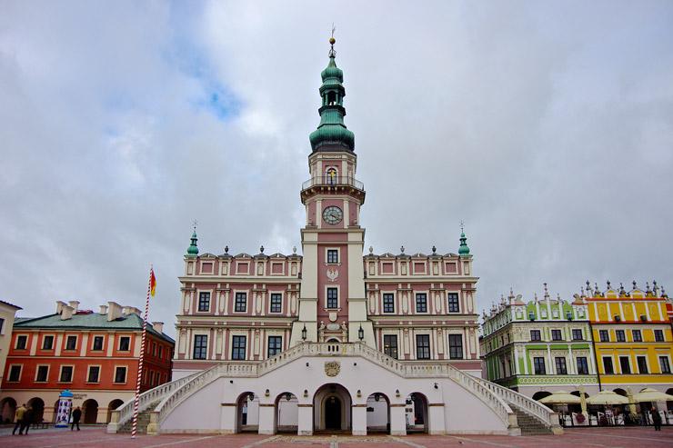 ザモシチ市庁舎